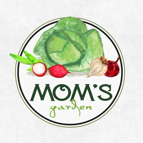 Logo for Mom`s GArden
