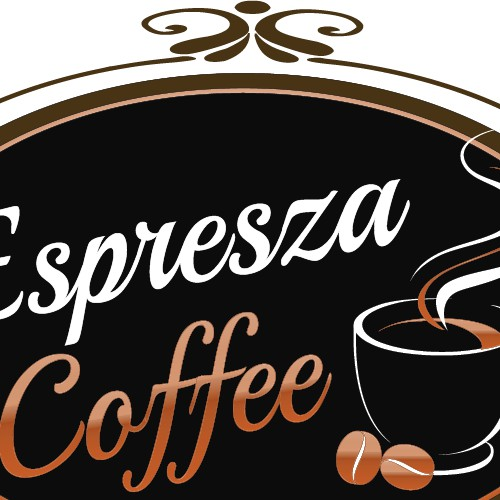 Create a unique company logo for a Coffee Company