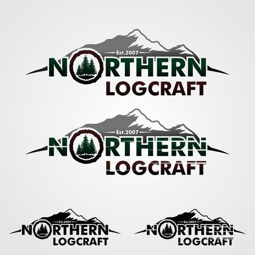 "Logo for ""NOTRHERN LOGCRAFT"""