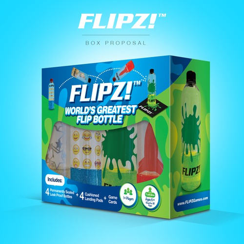 FLIPZ Box Design
