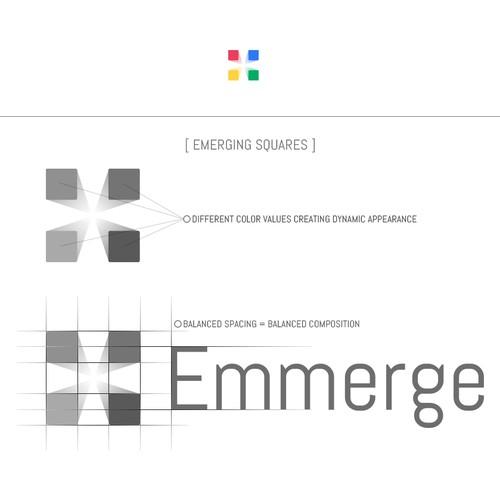 Emmerge - Logo PROCESS