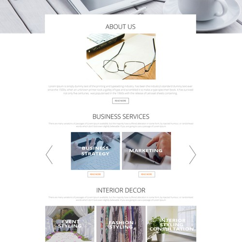 Design for Business Consulting & Interior Design Firm