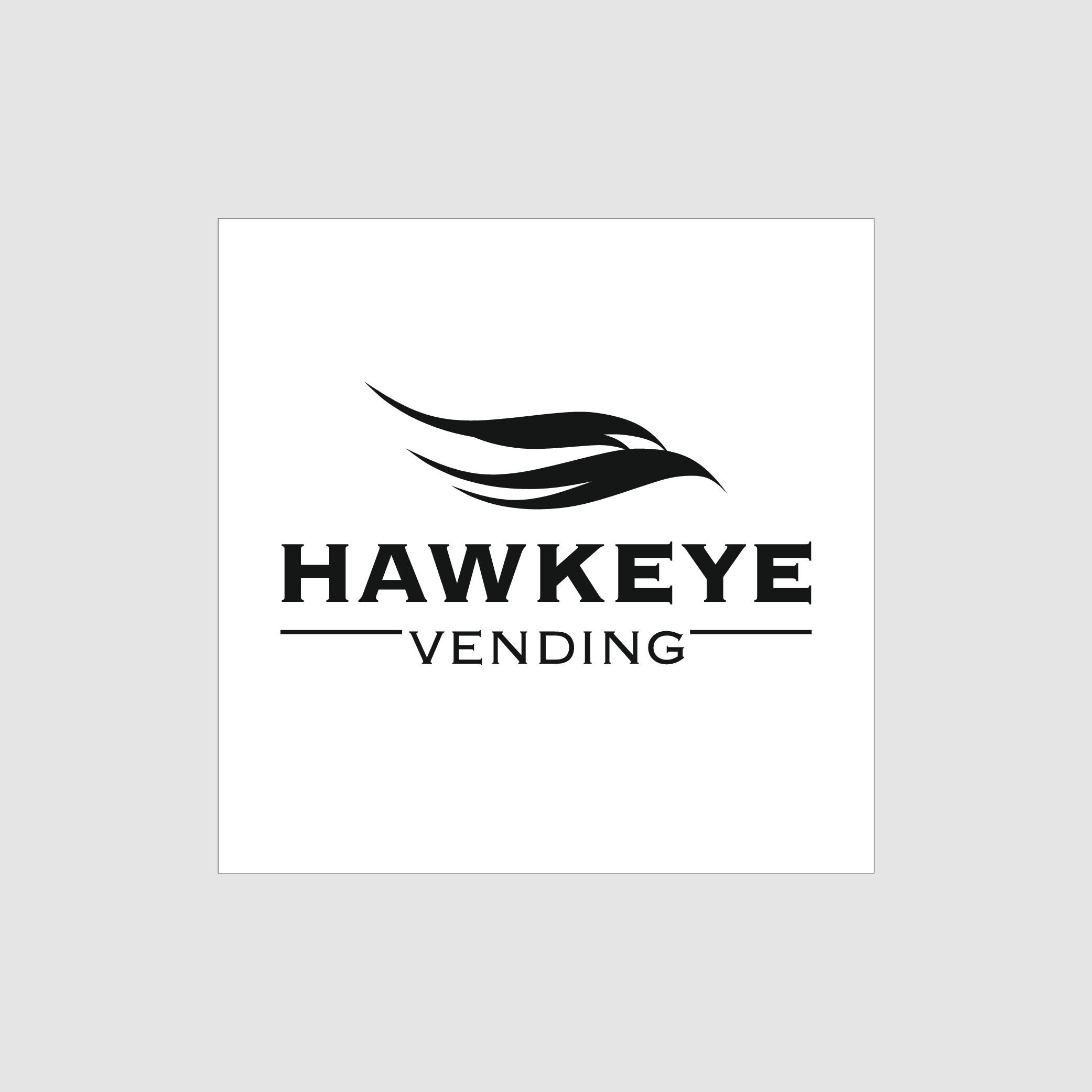 "Healthy Vending Machine Logo - ""Hawkeye Vending"""