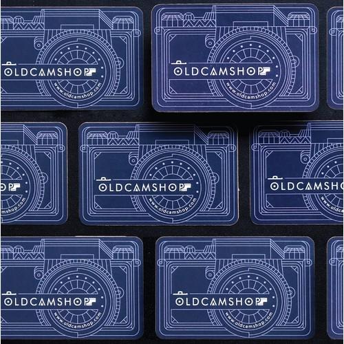 Oldcamshop Business Card