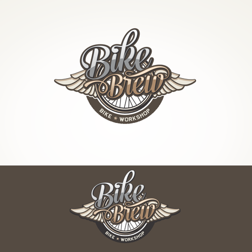 BikeBrew Logo design
