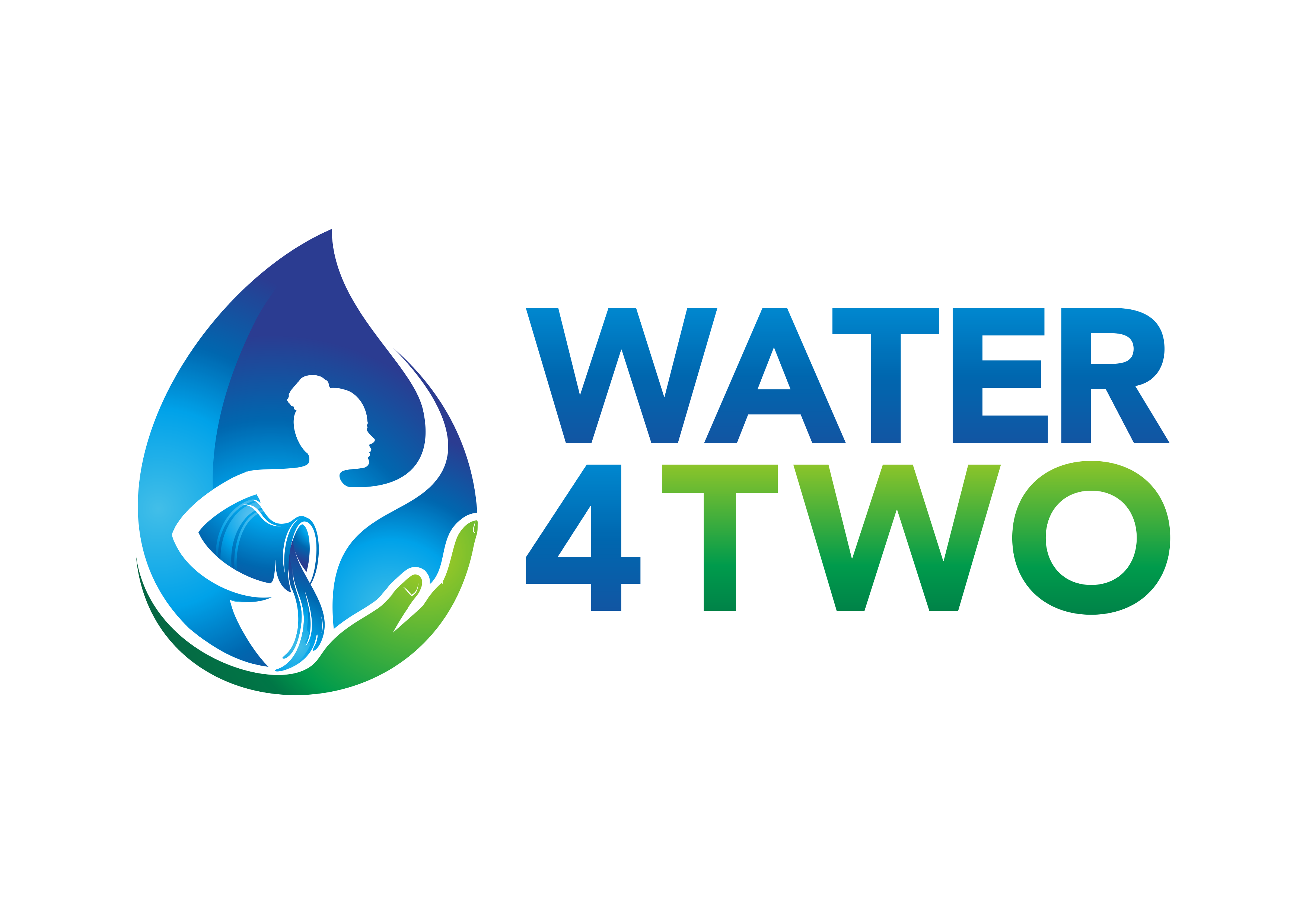 "Once and for all - ""Water4Two"" needs a logo to start supporting people in need:)"