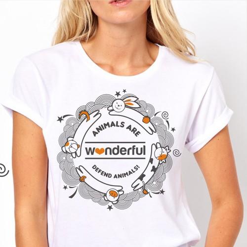 Design a t-shirt about animals!