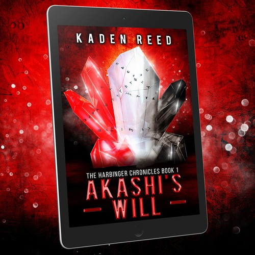 Book cover design - Akashi's Will by author Kaden Reed