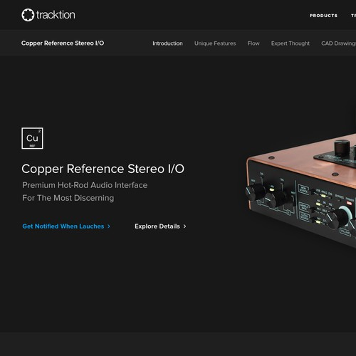 Tracktion - Product Page