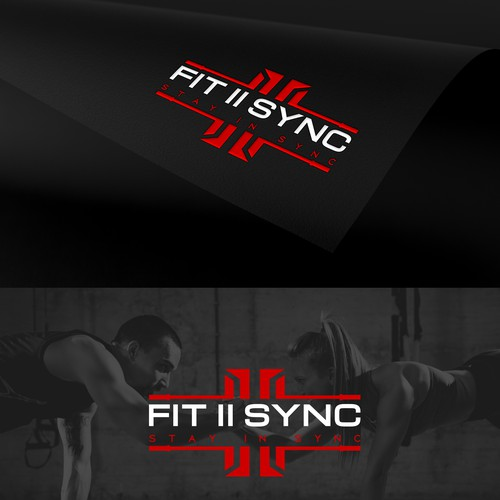 Logo Design for Fit II Sync