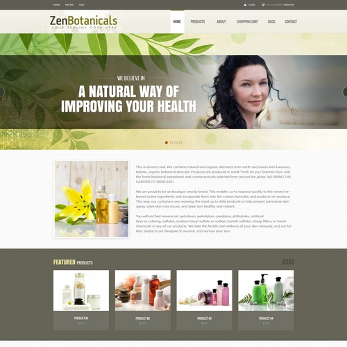 Zenbotanicals needs a kick ass designer to kick start our company!