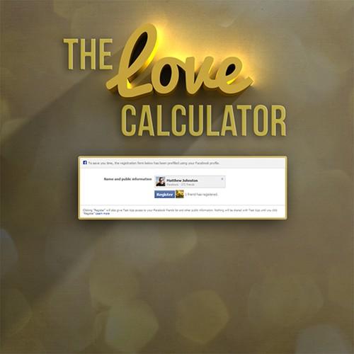 Facebook Love Calculator