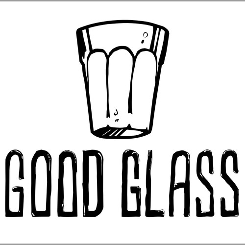 """Logo for """"Good Glass"""" onlineshop wanted!"""