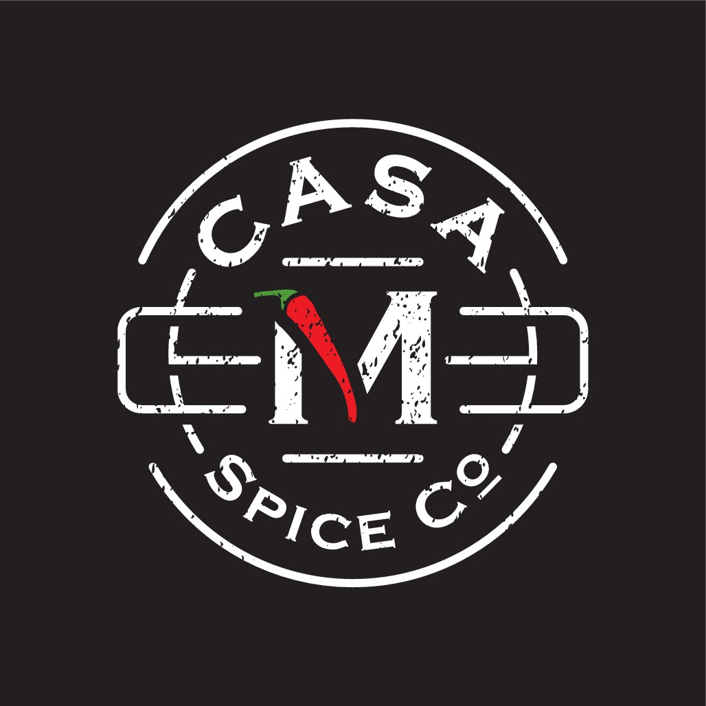Create a powerful brand logo for a startup custom BBQ spice company
