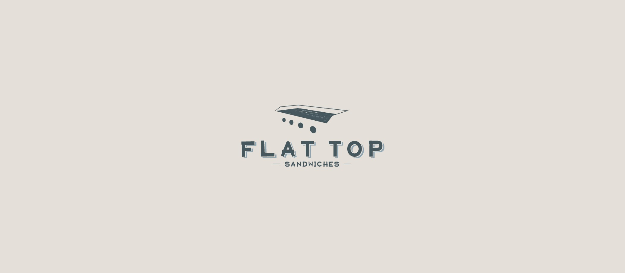 Help us launch Flat Top Sandwiches by creating an awesome, classic, iconic logo!