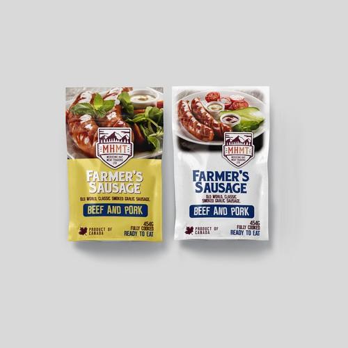 Smoked Sausage Packaging