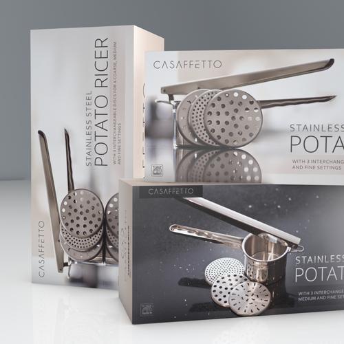 The winner design for Casaffetto Potato Ricer