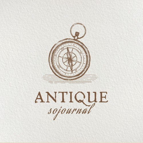 Logo for an antique and travel/photography website