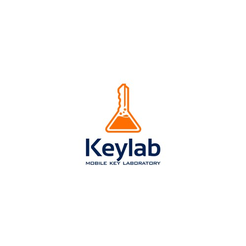 KeyLab logo design