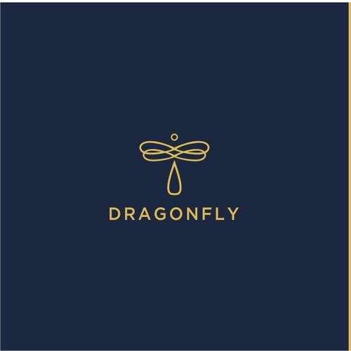 simple design dragonfly