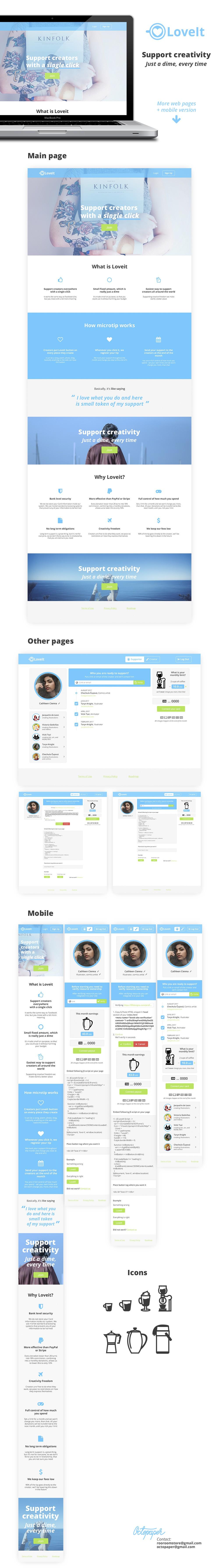 Design for a microtip platform