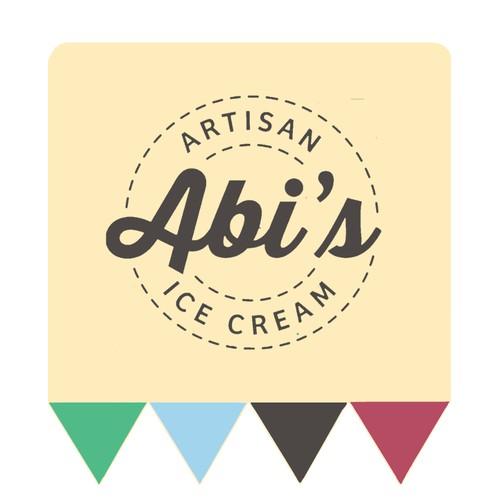 Этикетка для мороженого