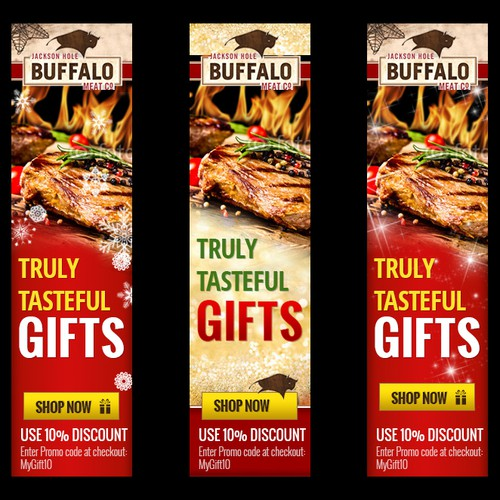 Help Jackson Hole Buffalo Meat Company with a new banner ad
