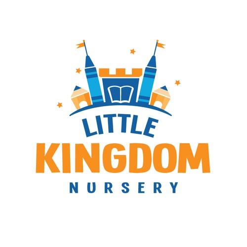 Fun logo design for a nursery school