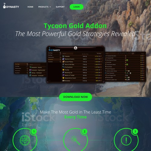 World of Warcraft Gold Addon