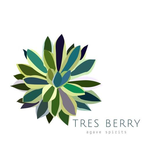 Mexican agave logo