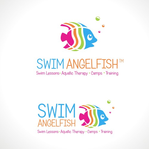 Swim Angelfish