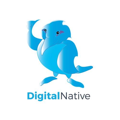 logo for Digital Native