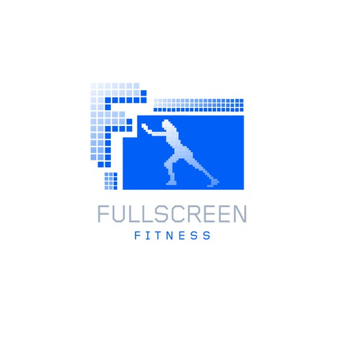 Logo concept for online fitness video reviews