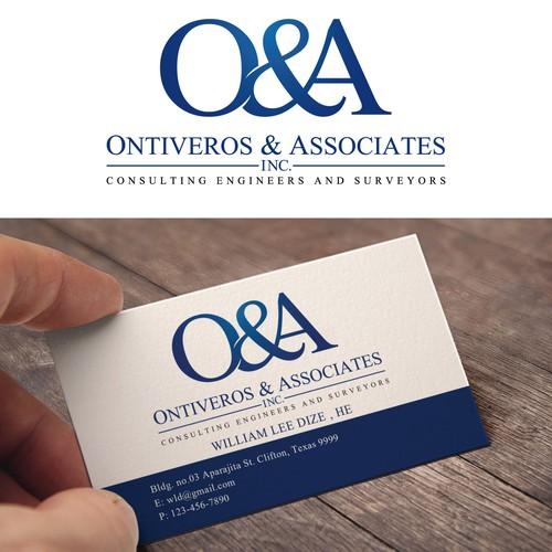 Business card for Ontiveros & Associates