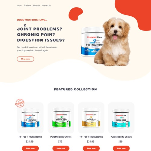 Premium care for your dogs