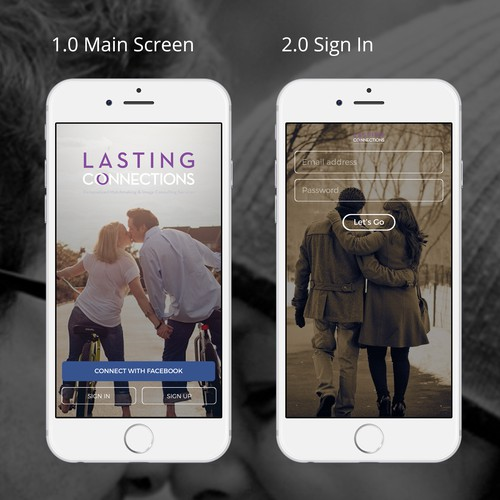 Buitiful Design refresh for Exclusive Dating App