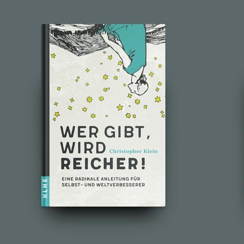 """Buchcover """"Wer gibt, wird reicher!"""""""