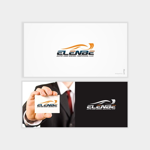 Create the FIRST logo for Elenbe Auto and Diesel Services, LLC
