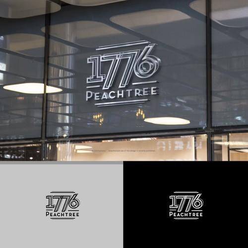 Logo for a New Building - Art Deco Style