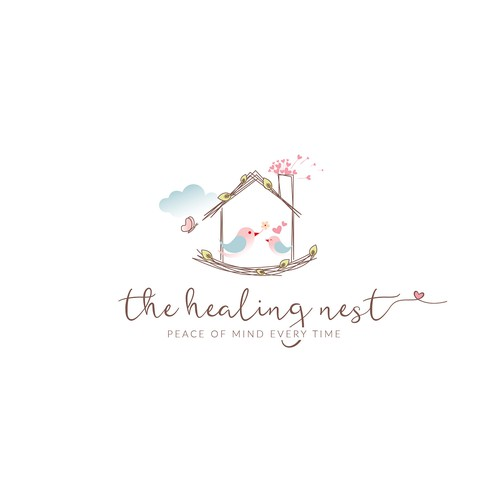 Logo concept for a home healthcare company