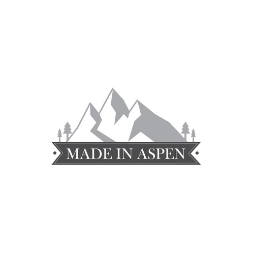 "creat a luxury logo for ""Made in Aspen"""