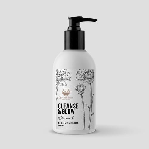 Botanic Skincare Label