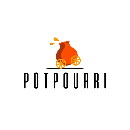 Logo concept for large pot cooking service