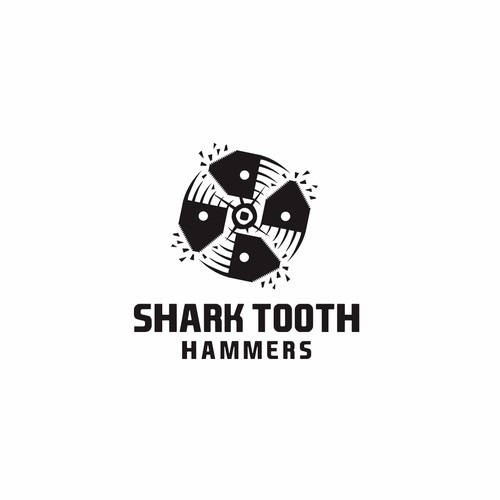 shark tooth hammers