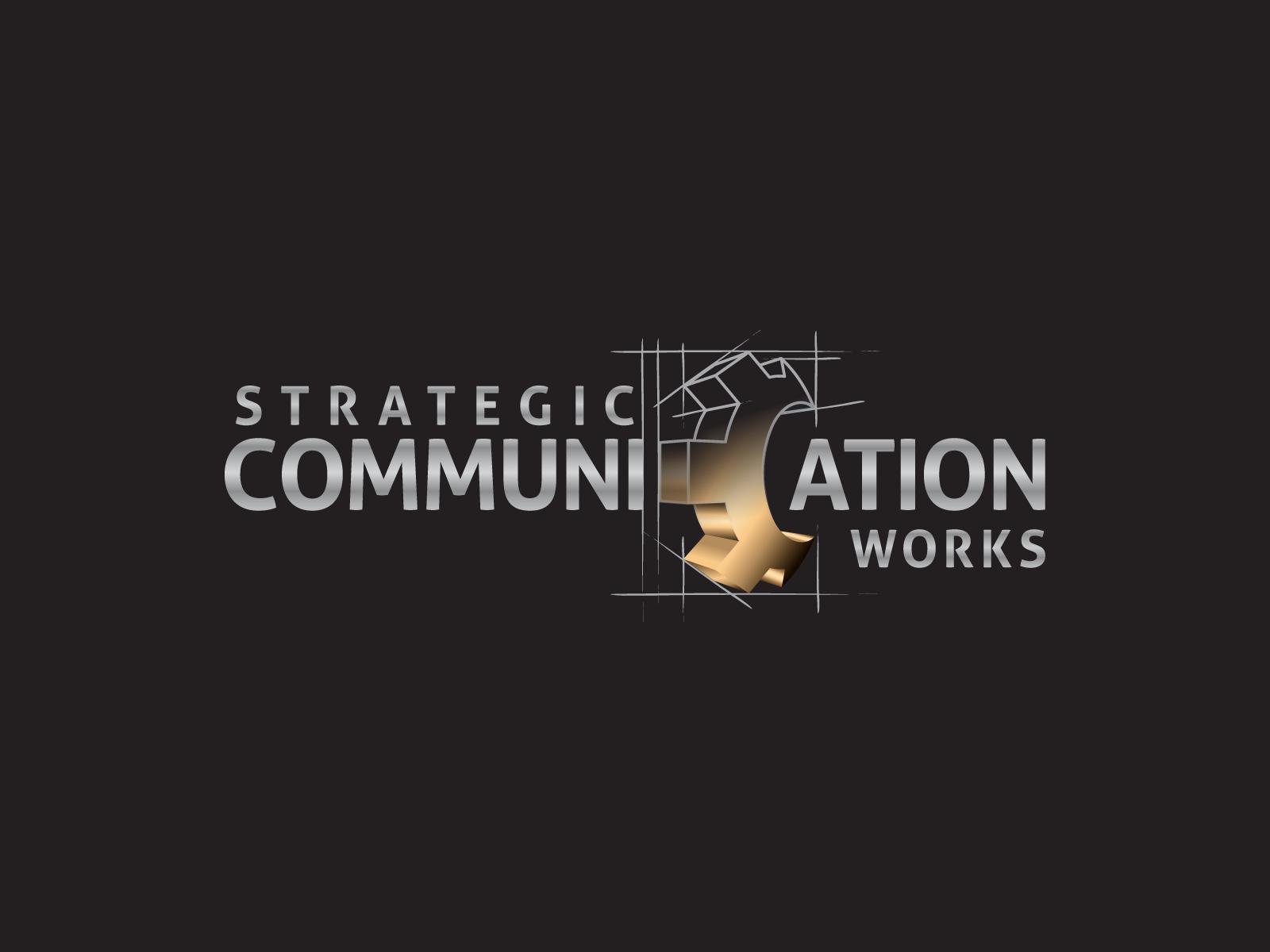 Create the next logo for Strategic Communication Works
