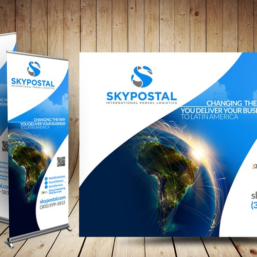 SkyPostal Trade Show Designs