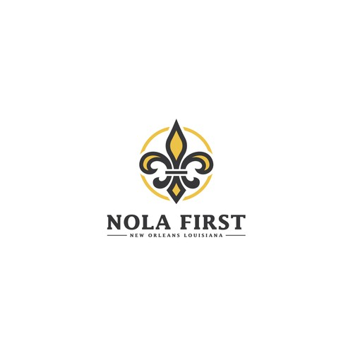 Nola First - Logo & Social Media