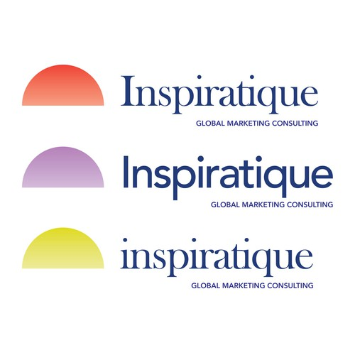 Inspiratique second logo proposal