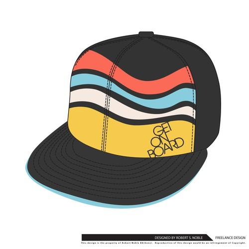 Get on Board baseball cap