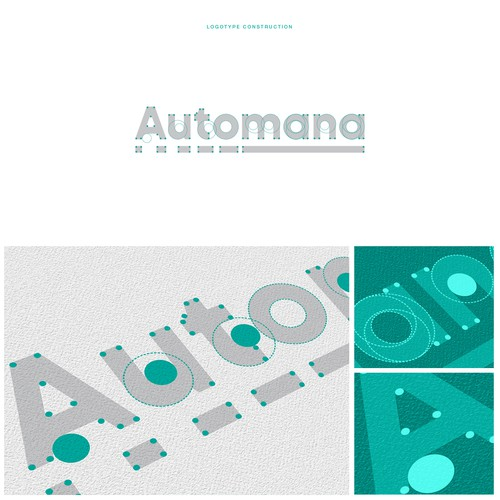 Custom logotype for Automana
